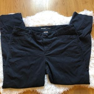 Old Navy Pixie Ankle Pants Navy Blue 12R